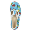 Children's Slippers with Cars bata, blue , 279-9105 - 15