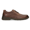 Brown leather shoes bata, brown , 826-4918 - 19