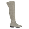 Grey over-knee high boots bata, gray , 593-2605 - 15