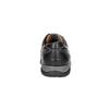 Men's leather sneakers bata, black , 824-6921 - 17