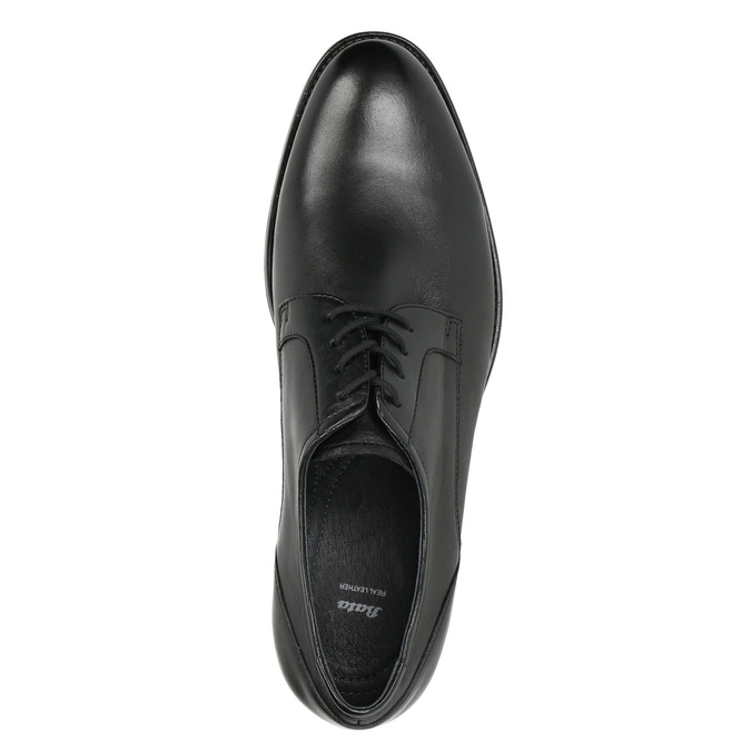 Men's Derby shoes, black , 824-6618 - 26