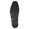 Black leather shoes bata, black , 824-6600 - 19