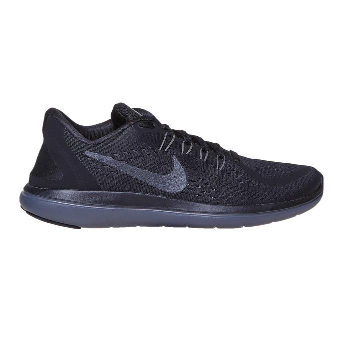 Ladies' athletic sneakers nike, black , 509-6187 - 15