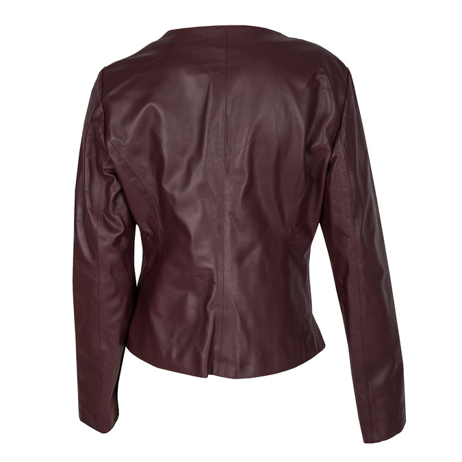 Ladies' Leather Jacket bata, multicolor, 974-0143 - 26