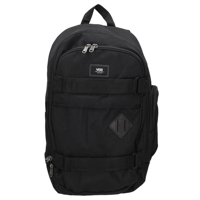 Black Backpack with Buckles vans, black , 969-6098 - 26