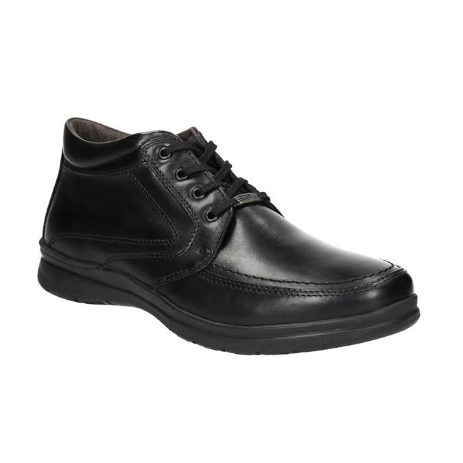Men's winter boots comfit, black , 894-6686 - 13