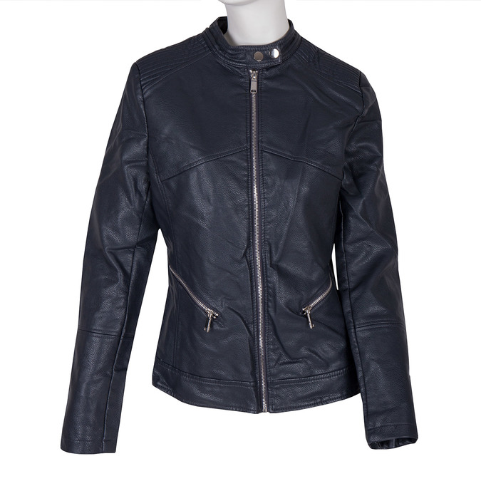 Ladies' Jacket with Quilting bata, blue , 971-9203 - 13