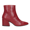 Red Leather High Boots vagabond, red , 716-5038 - 26