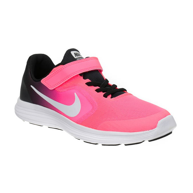 Pink Girls' Sneakers nike, pink , 309-5132 - 13