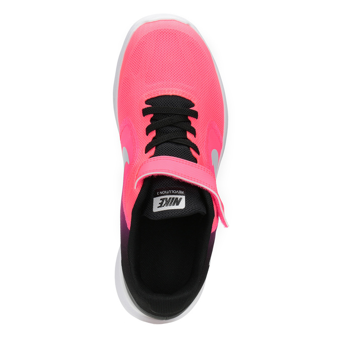 Pink Girls' Sneakers nike, pink , 309-5132 - 15
