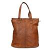 Ladies' Leather Handbag bata, brown , 964-3245 - 26