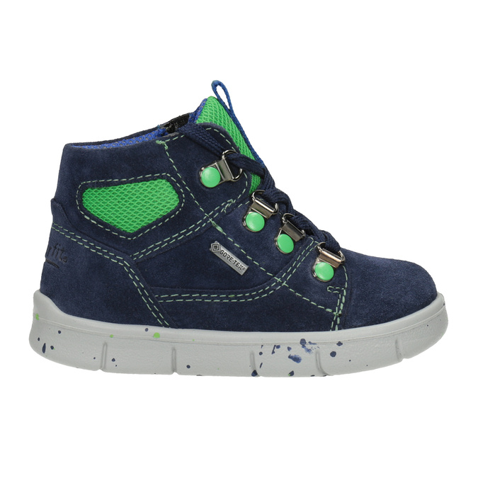 Children's ankle boots superfit, blue , 113-9029 - 26