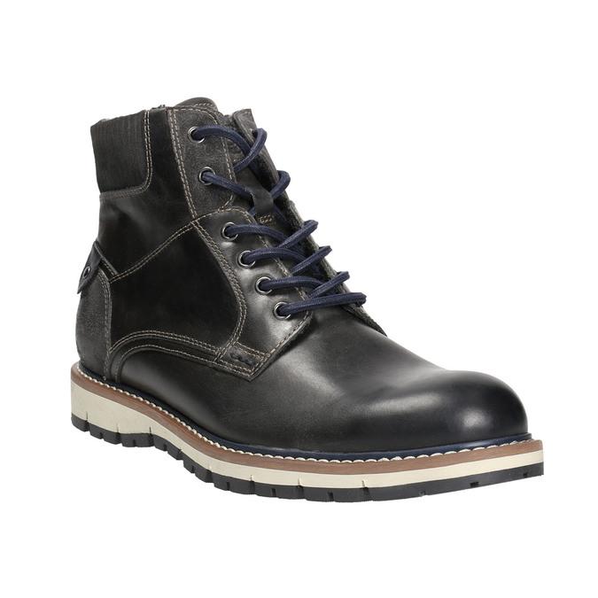 Men's Winter Ankle Boots bata, blue , 896-2657 - 13