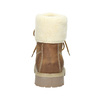 Men's Ankle Boots with Fleece weinbrenner, brown , 896-4670 - 16