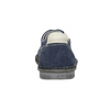 Casual leather shoes bata, blue , 853-9612 - 16