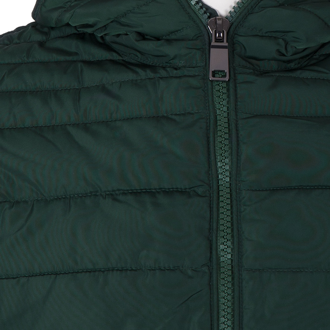 Men's Green Hooded Jacket bata, green, 979-7130 - 16