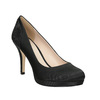 Ladies' Pumps with Rhinestone Appliqué bata, black , 729-6612 - 13