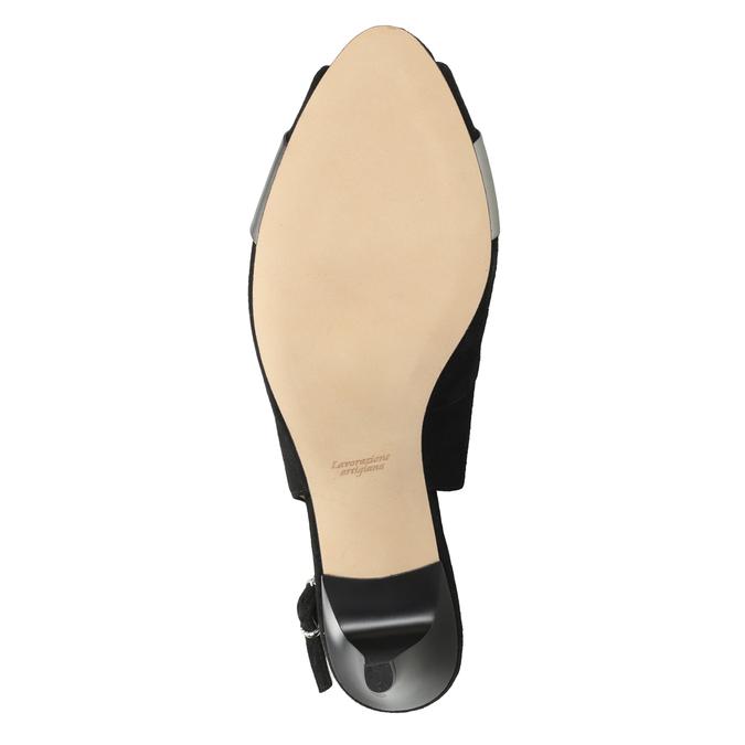 Ladies' court shoes bata, black , 623-6604 - 19