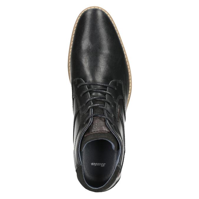 Men's ankle boots bata, black , 826-6926 - 15