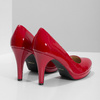Red patent leather pumps insolia, red , 728-5104 - 16