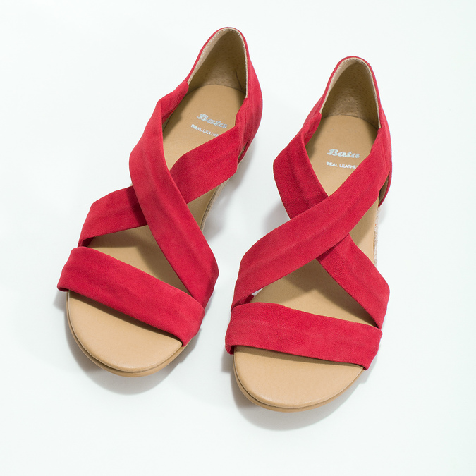 5635600 bata, red , 563-5600 - 16