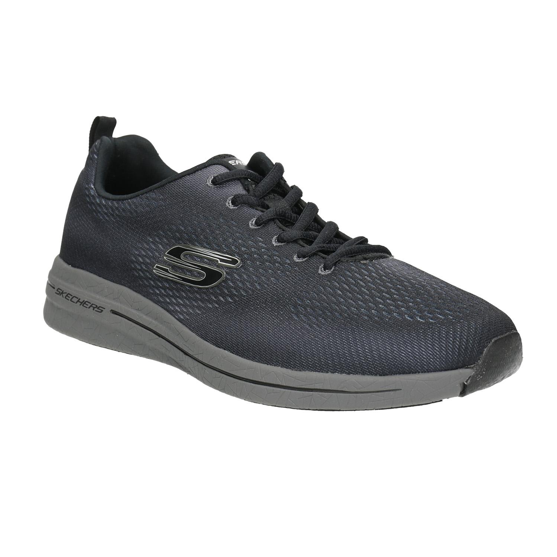 skechers memory foam mens. men\u0027s sneakers with memory foam skechers, gray , 809-2141 - 13 skechers mens m